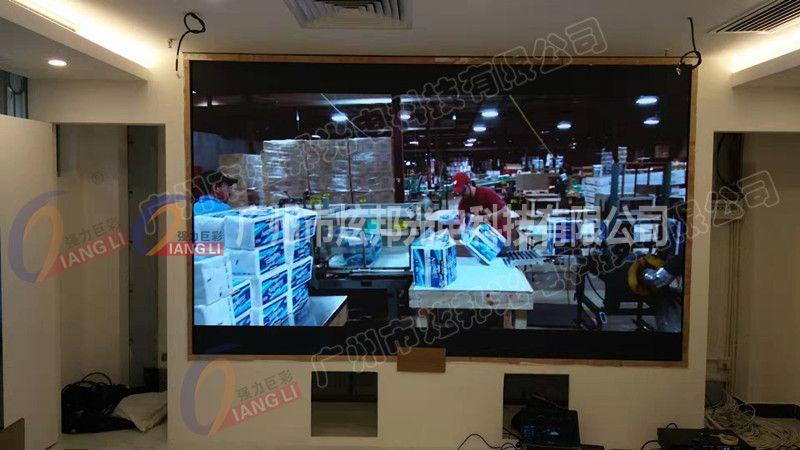 广州市治安局大数据侦控中心小间距LED屏Q1.25  6平方 2019年9月
